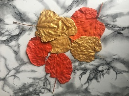feuilles-peintes