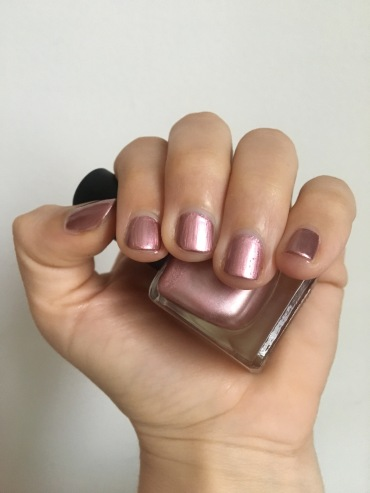 vernis-metallic rose